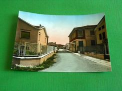 Cartolina Valmacca - Via Castello 1963 - Alessandria