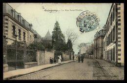 22 - GUINGAMP - Rue Saint-nicolas - Guingamp