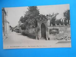 41) - 01 - Montrichard ( Loir Et Cher ) - N°7 - Rue Nationale Et Rue Porte-Chanvre.  EDIT - L.L - Montrichard
