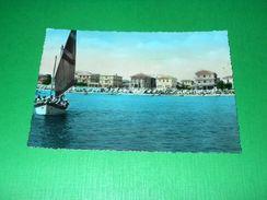 Cartolina Bellaria - Scorcio Panoramico Dal Mare 1956 - Rimini
