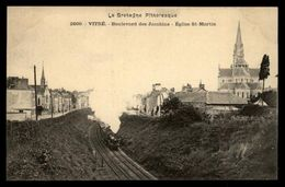 35 - VITRE - Boulevard Des Jacobins - Train - Vitre