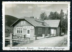 """CPSM S/w Photo AK Tschechien Harrachov/Harrasdorf 1961""""Mummelfallbaude Riesengebirg  """" 1 AK Used - Tchéquie"""