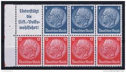 Deutsche Reich: Markenheftchen H-BL  H 89  MNH/**, Postfrisch  Sans Charnière - Germania
