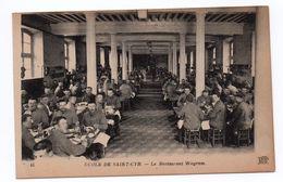 ECOLE DE SAINT CYR (78) - LE RESTAURANT WAGRAM - St. Cyr L'Ecole