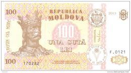 2013, MOldova, 100Leu/2013, UNC - Moldavie