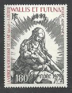 WALLIS FUTUNA 1979 TO 1983 CHRISTMAS ART PAINTINGS VIRGIN MADONNA 5 SETS MNH - Unused Stamps