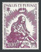 WALLIS FUTUNA 1989 ART PAINTINGS DURER MADONNA CHRISTMAS SET MNH - Unused Stamps