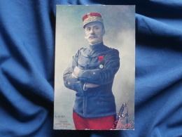 Général Foch  - LVC  Non Circulée L318 - Characters