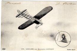 L'Aviateur Leblanc Sur Monoplan Blériot  - CPA - ....-1914: Precursores