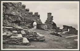 King Arthur's Castle, Tintagel, Cornwall, C.1950s - Harvey Barton RP Postcard - Other