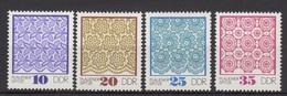 DDR / Plauener Spitze (II) / MiNr. 1963 - 1966 - DDR