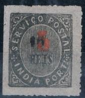 India, 1881, # 62 I D, Sob A, MNG - Portuguese India