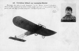L'Aviateur Gilbert Sur Monoplan Blériot   - CPA - ....-1914: Vorläufer