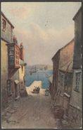 Charles Hannaford - Fish Strand, Falmouth, Cornwall, C.1905 - Textured Postcard - Falmouth