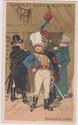 Chromo Guerin-boutron  Militaire Et Civils - Guérin-Boutron