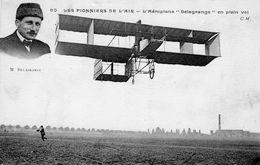 Les Pionniers De L'Air  -  L'aéroplane Delagrange En Plein Vol   - CPA - ....-1914: Precursores