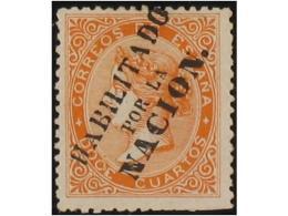 SPAIN: ISABEL II. 1865-69. PERF. ISSUES - Spain