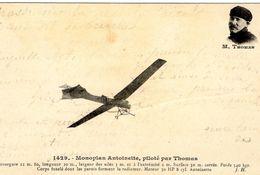 Monoplan Antoinette, Piloté Par Thomas  - CPA - ....-1914: Vorläufer