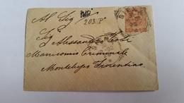 1375 B - 1902 LETTERA DA SIENA A MONTELUPO FIORENTINO - Storia Postale
