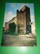 Cartolina Ninfa ( Latina ) - Il Castello 1967 - Latina