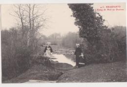 26283 BRASPARTS Etang De Meil An Doulven  -Ed Joncour N° 413 Brasparts - Femme Costume Breton - Autres Communes