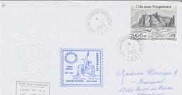 TAAF LETTRE 200 3 L'ILE AUX PINGOUINS   /  2 - Französische Süd- Und Antarktisgebiete (TAAF)
