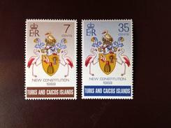 Turks And Caicos 1969 New Constitution MNH - Turks & Caicos (I. Turques Et Caïques)