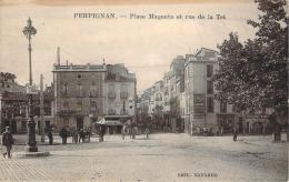 66 - Perpignan - Place Magenta Et Rue De La Tet - Perpignan