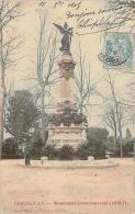 66 - Perpignan - Monument Commémoratif 1870-71 (colorisée) - Perpignan