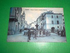 Cartolina Velletri - Piazza Cairoli E Fontana Bernini 1915 - Unclassified