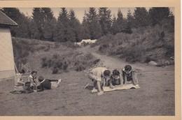 CPA Eclaireuses  Veille D'Excursion. Lecture De Carte - Scoutisme