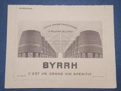 FRANCE - Carte Lettre FM , Publicité Byrrh Au Verso - L 9513 - Cartes De Franchise Militaire