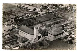 1065/4 - LA BATHIE - LES ECOLES - L EGLISE (EDITIONS AERIENNES COMBIER MACON) - France