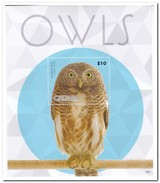 Grenada 2015, Postfris MNH, Owls - Grenada (1974-...)