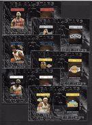 NIUE 2007 STARS DE LA NBA  YVERT N°B149/54  NEUF MNH** - Basket-ball