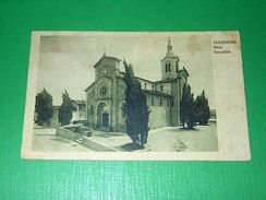 Cartolina Traversetolo ( Parma ) - Chiesa Parrocchiale 1952 - Parma
