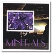 St. Vincent En De Grenadines 2015, Postfris MNH, Minerals - St.-Vincent En De Grenadines