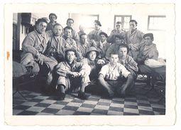Photo Soldats, Régiment à Identifier, Chambrée - Guerre, Militaire
