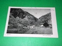 Cartolina Goglio - Valle Antigorio - Panorama 1951 - Verbania