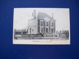 Carte Postale Ancienne De Villemurlin: Mairie-Ecole - Autres Communes