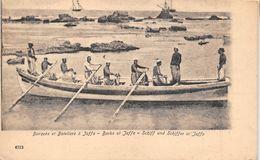 ¤¤  -  ISRAEL   -  JAFFA   -  Barques Et Bateliers    -  ¤¤ - Israel