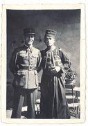 Photo Soldats D'Afrique, Zouave - Guerre, Militaire
