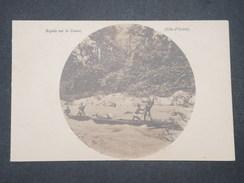 COTE D' IVOIRE  - Carte Postale Photo D'une Pirogue Sur Des Rapides , Période 1900/20 - L 9524 - Côte-d'Ivoire
