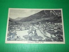 Cartolina Moena ( Trento ) - Panorama 1934 - Trento