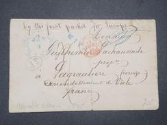 ETATS UNIS - Lettre De New Orléans Pour La France En 1845 - L 9528 - …-1845 Vorphilatelie