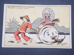 TONKIN - Carte Postale Humoristique Sur Les Pousses Pousses - L 9531 - Non Classés