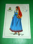 Cartolina Illustrata Costumi D' Italia - Calabria 1960 Ca - Cartes Postales