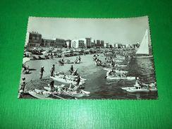 Cartolina Cattolica - Spiaggia E Alberghi 1961 - Rimini