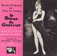 45 TOURS MICHEL MAGNE BARCLAY 70473 BOF LE REPOS DU GUERRIER BRIGITTE BARDOT - Soundtracks, Film Music