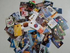 CZECH REPUBLIC - SUPER LOT Of More Than 90 Different Chipcards With Better Cards !!! - Tchéquie